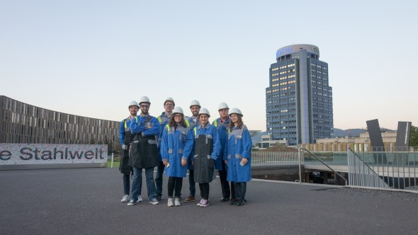 Blogger Event in der voestalpine
