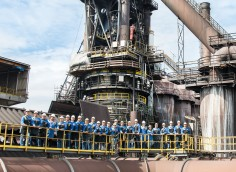 Successful relining of blast furnace 6 in Linz