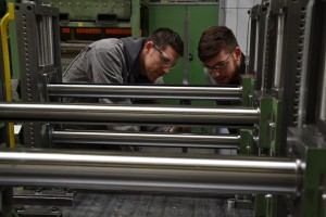 Apprentices from Krems on practical work experience in Belgium