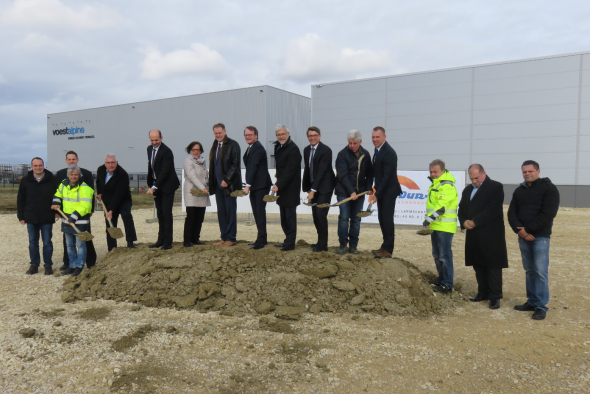 Groundbreaking ceremony marks further expansion in Schwäbisch Gmünd