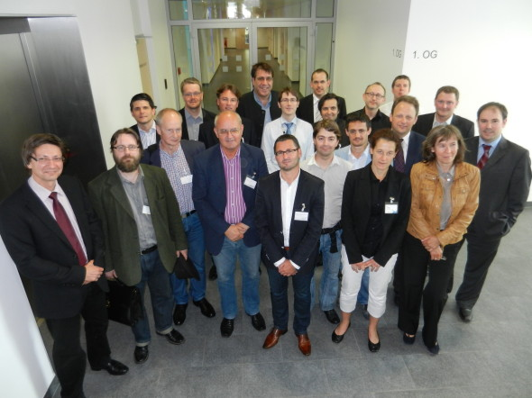 R&D expert cluster with researchers from across the divisions