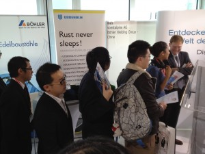 voestalpine at the SinoJobs Career Days 2013