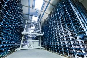High-bay warehousing