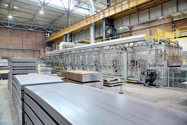 Europe S Most Modern Steel Service Center Voestalpine
