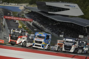Truck Race at the Red Bull Ring. PhotoCredit: S. Zangrando/Projekt Spielberg