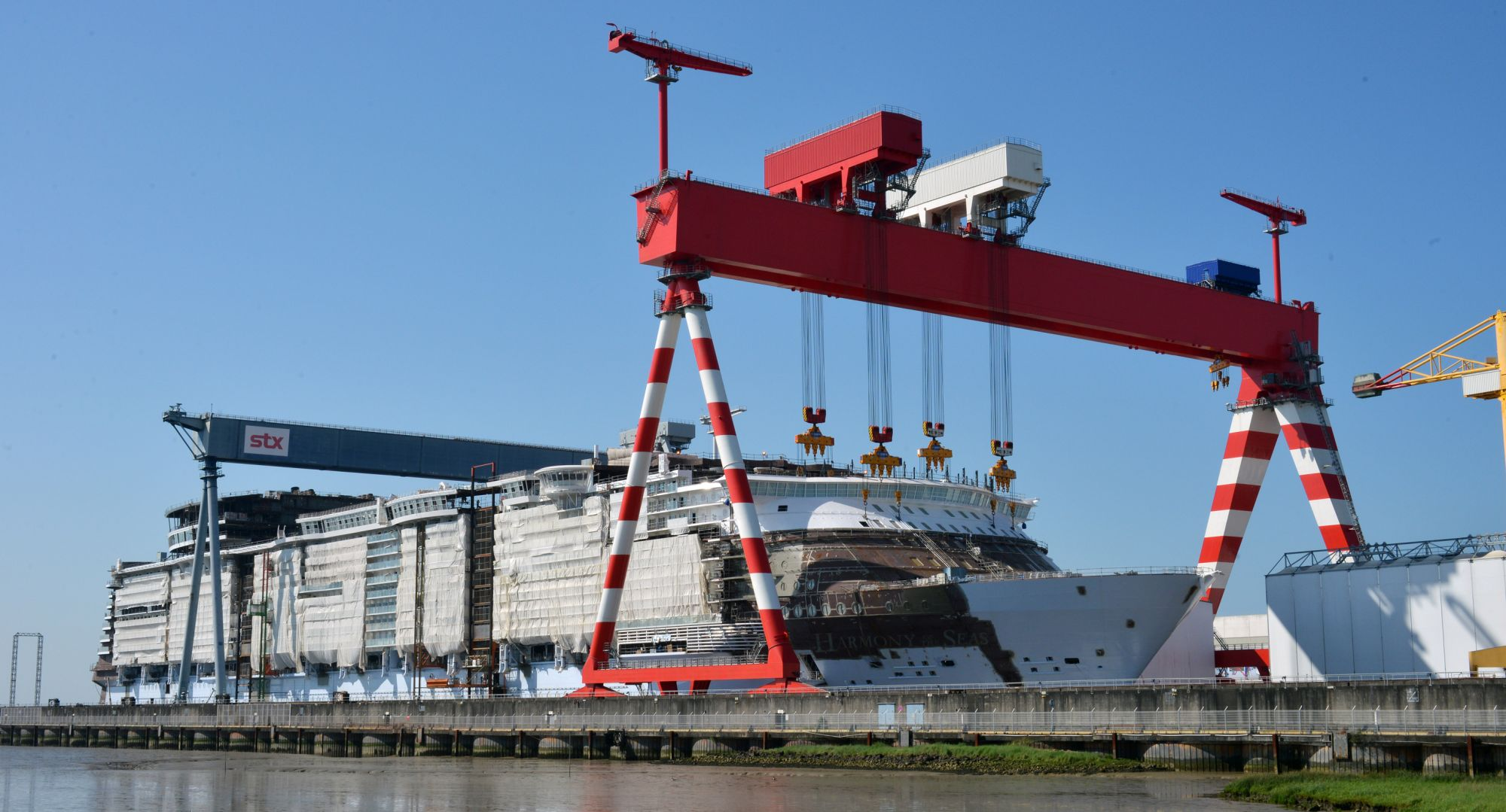 Deliveries For The World S Largest Cruise Ship Voestalpine