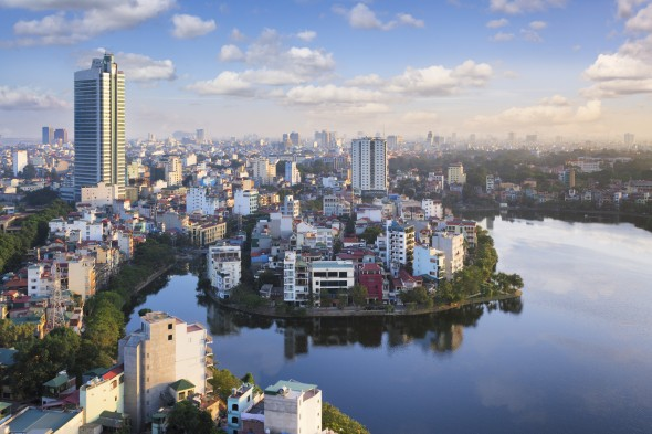 Hanoi, capital of Vietnam