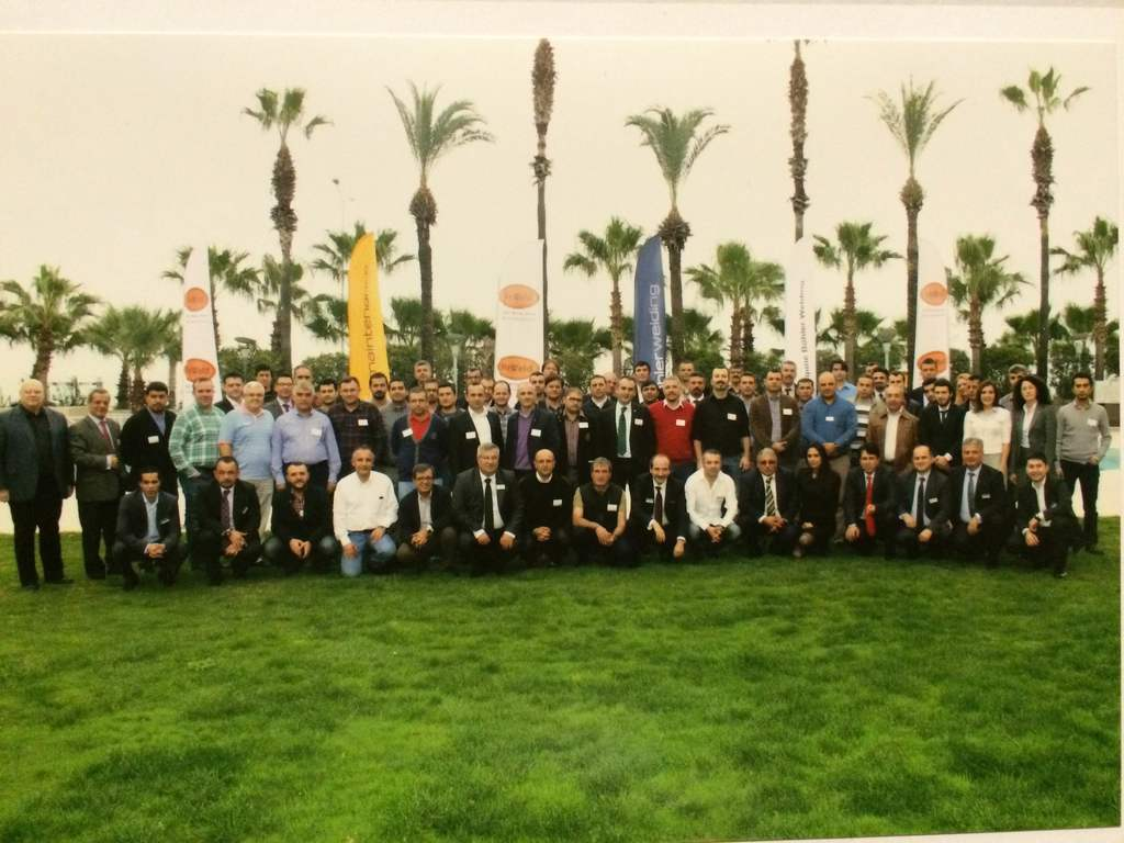 Decision-makers in the cement industry are obviously very interested in the technical seminars held in Turkey, as demonstrated here in Antalya in November 2014.