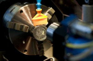 Böhler Edelstahl Prägung Euro-Münzen