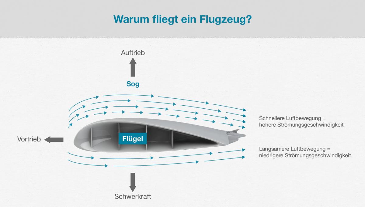 Aerodynamik Flugzeug