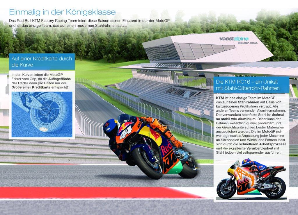 KTM setzt auf Motorrad-Rahmen aus Stahl
