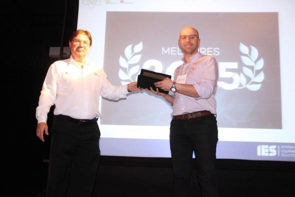 """sexto encontro de fornecedores da IES do Brasil, a voestalpine Meincol foi distinguida como """"Melhor Fornecedor de 2015""""."""