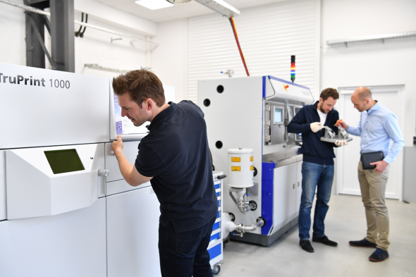 Voestalpine Additive Manufacturing Center