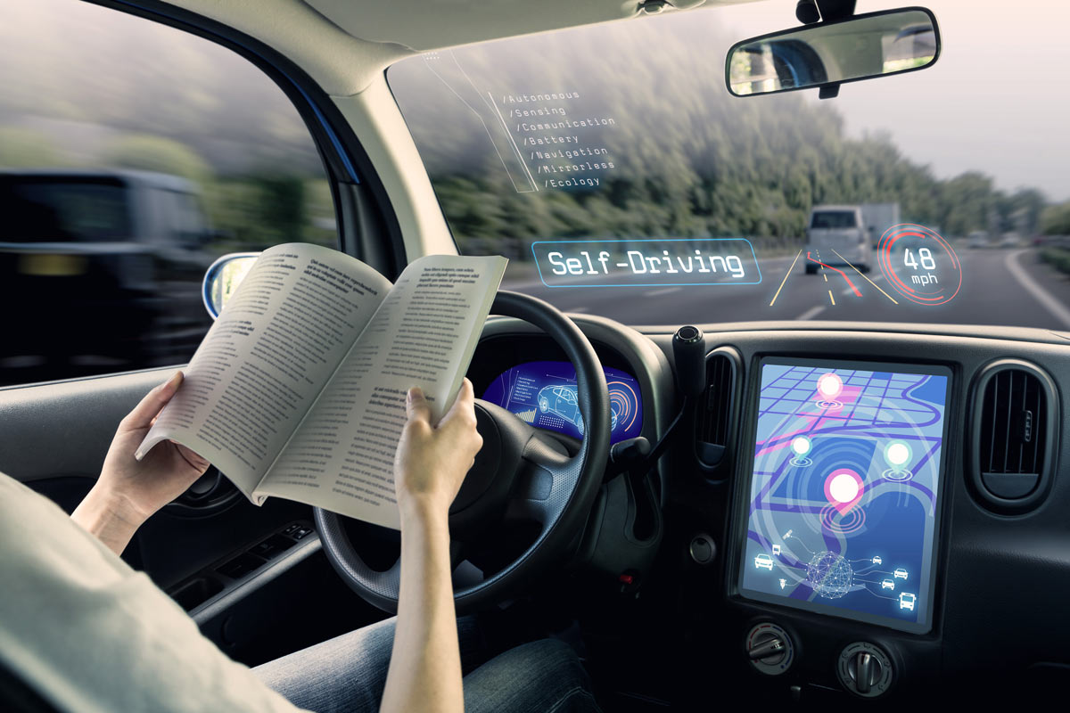 Angela Carnon autonomous driving: how far away is the future of driverless