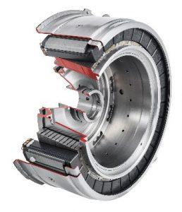 compacore® in Anwendung: als Rotor in einer Daimler-Achse (© EM-Motive)