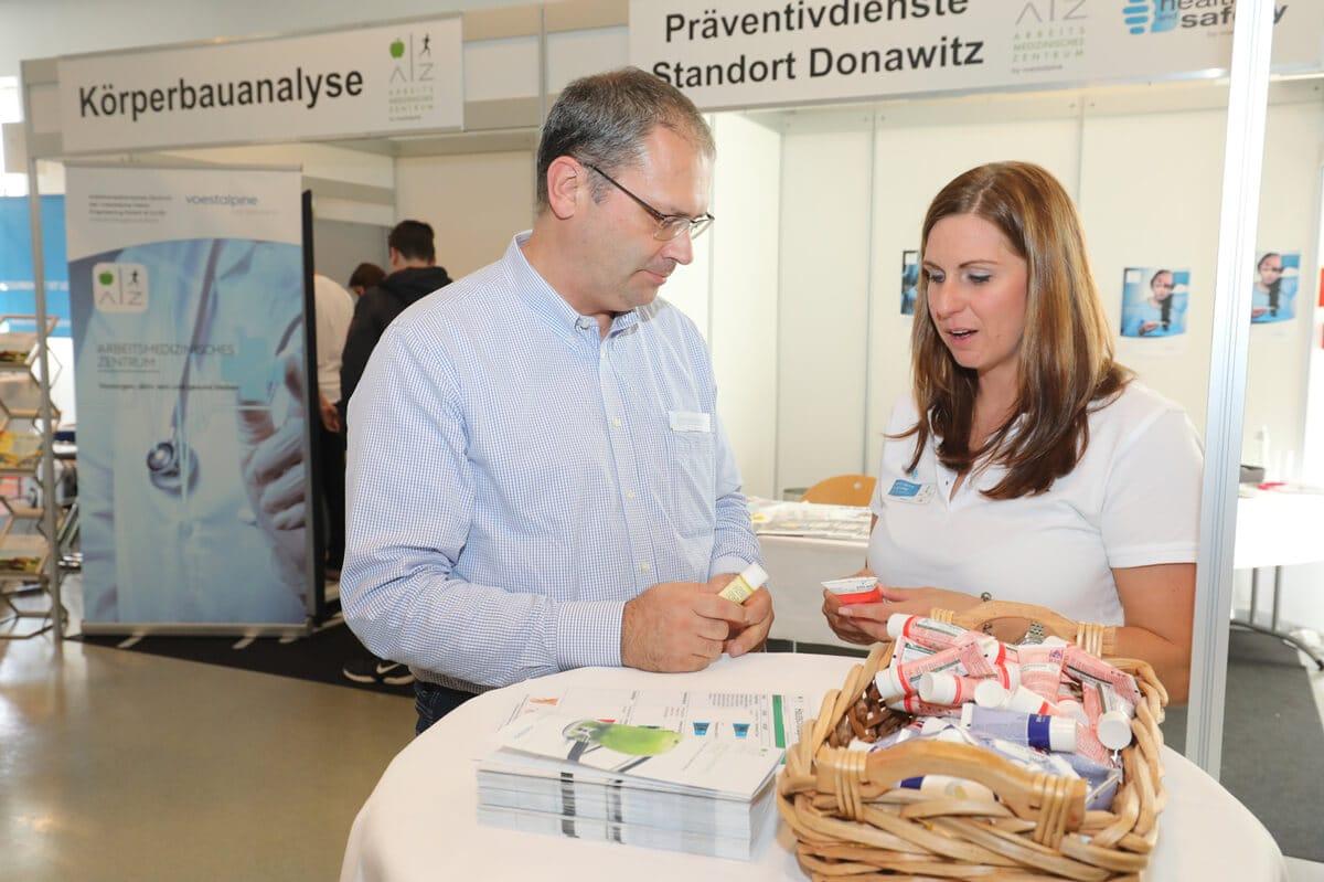 Aktiv & gesund: Gesundheitstage der voestalpine am Standort Donawitz