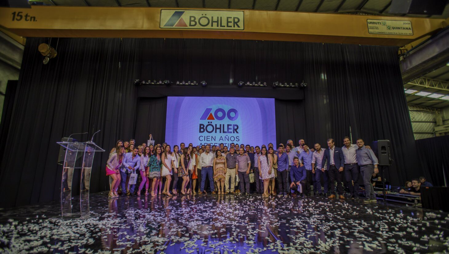 Celebrating Böhler's 100 years in Argentina