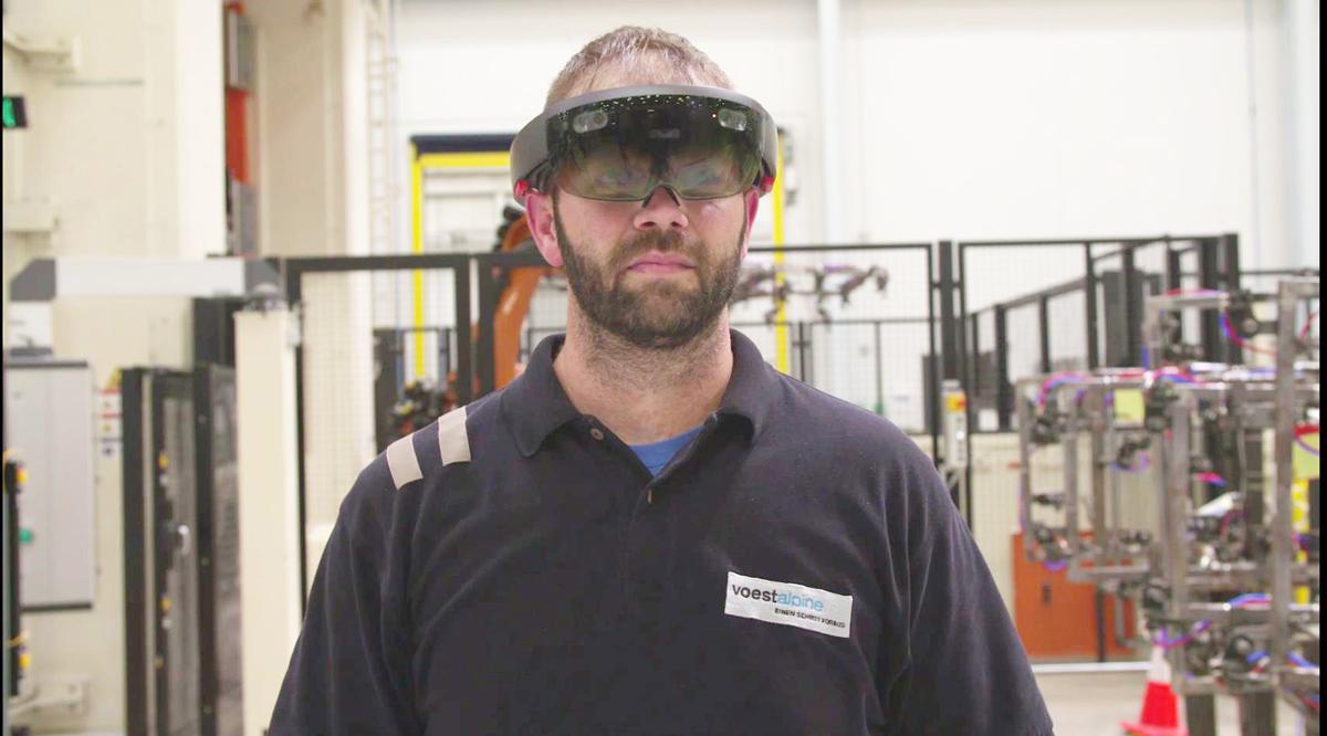Die Anlagenbediener in Cartersville erhalten bei Bedarf via Datenbrille Support von den Experten in Schwäbisch Gmünd.