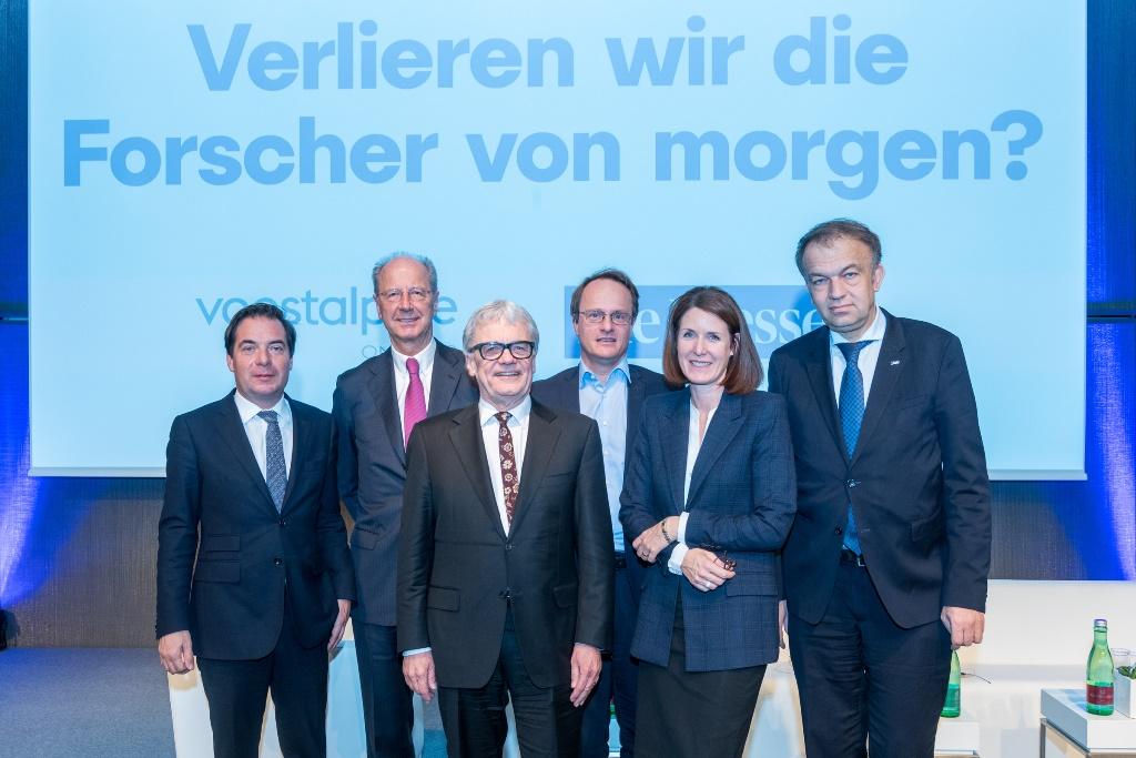 Podiumsdiskussion: Verliert Österreich die Forscher von morgen?