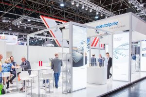 voestalpine-messestand