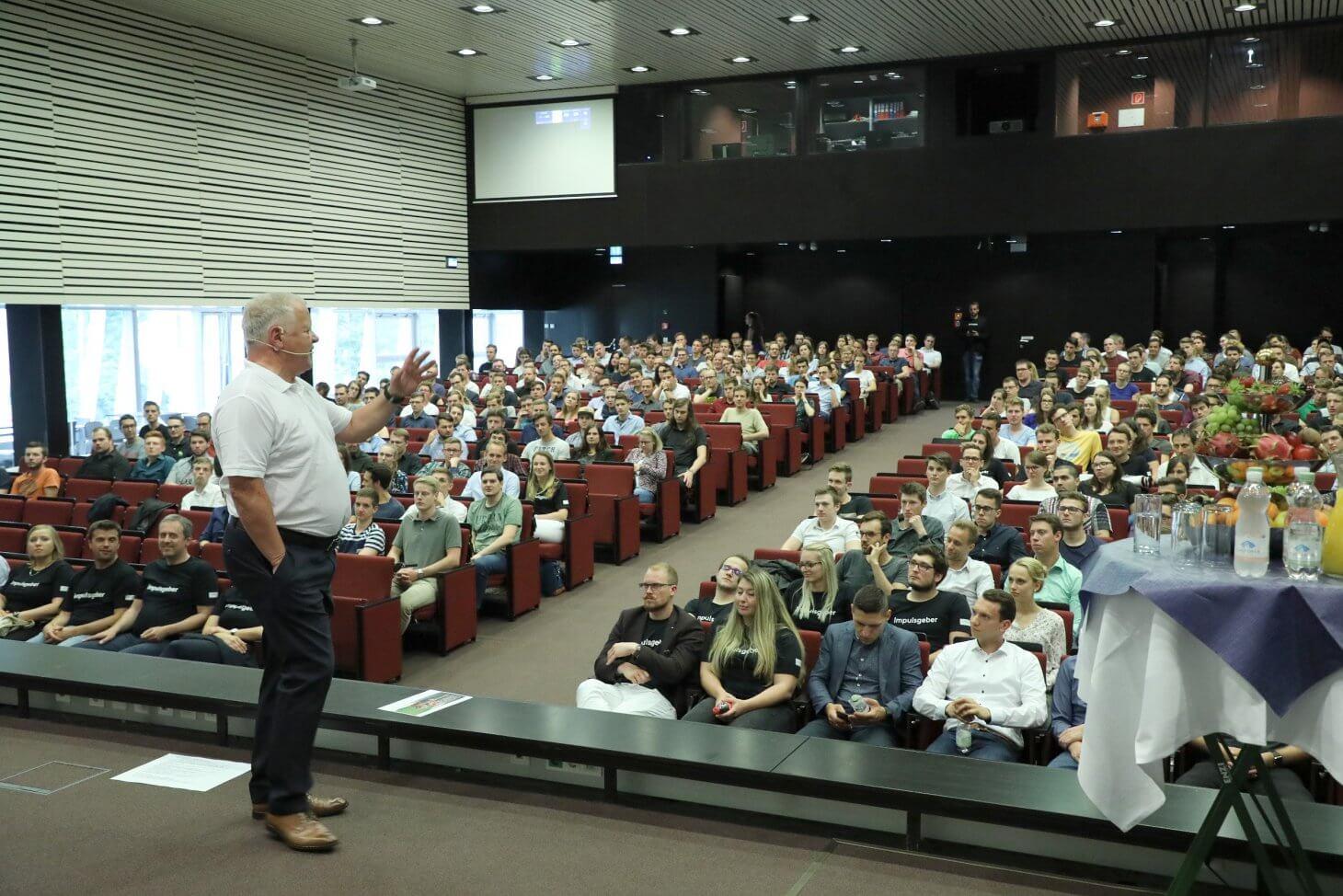 #voestalpinetalks: Wertvolle Impulse für mehr als 400 Studierende der Montanuniversität Leoben
