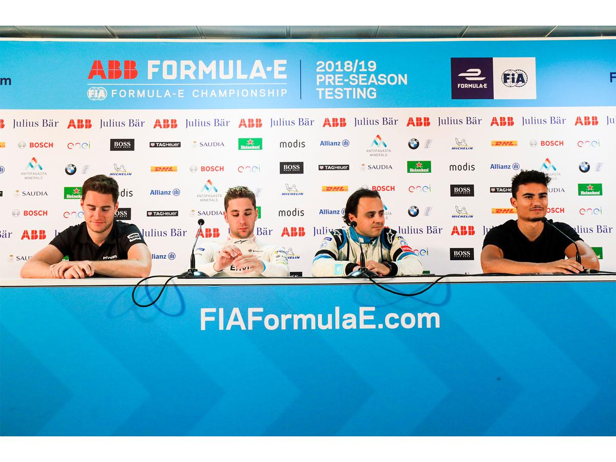 Formel E Piloten