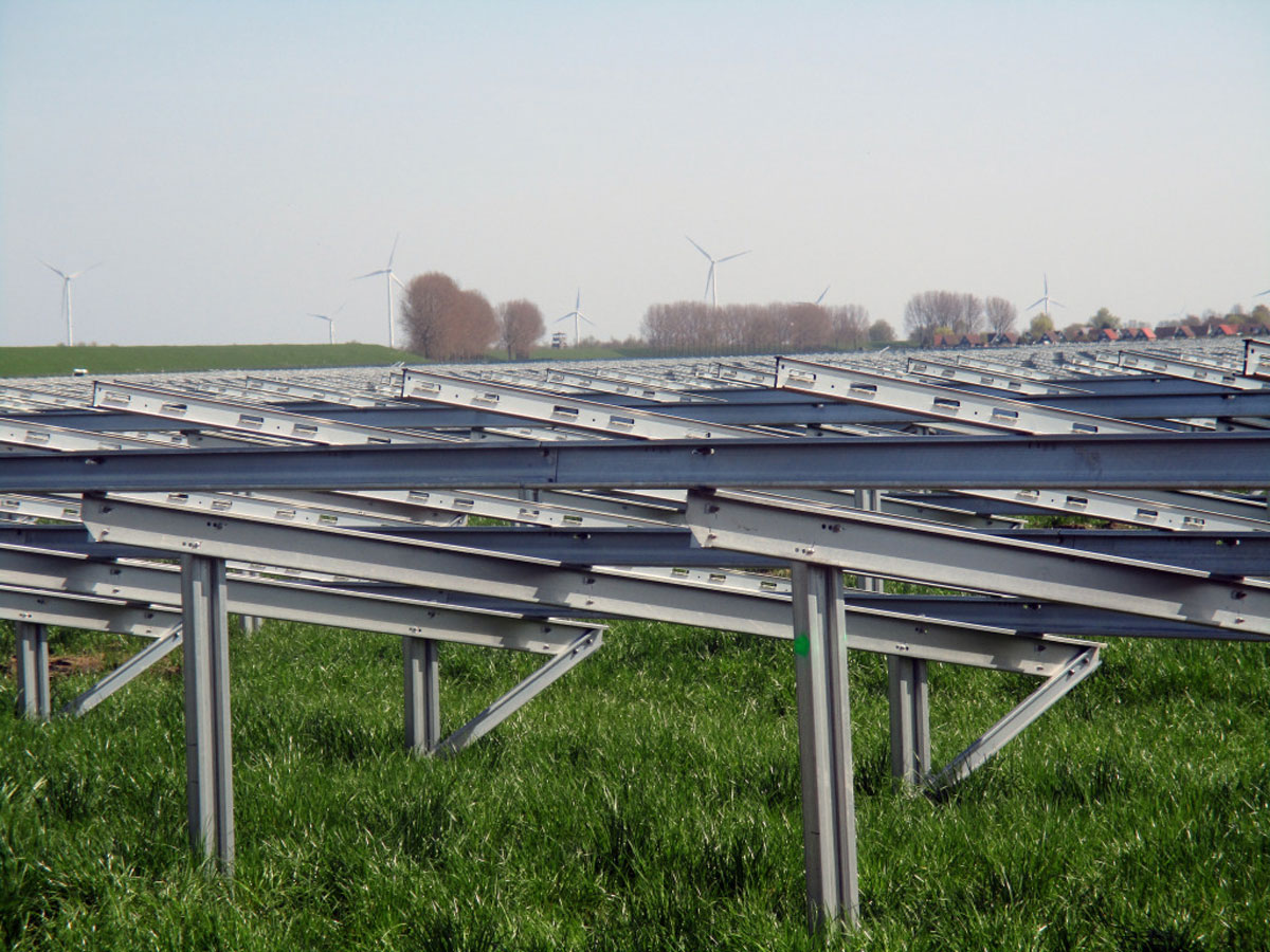Solarwerk in Goeree