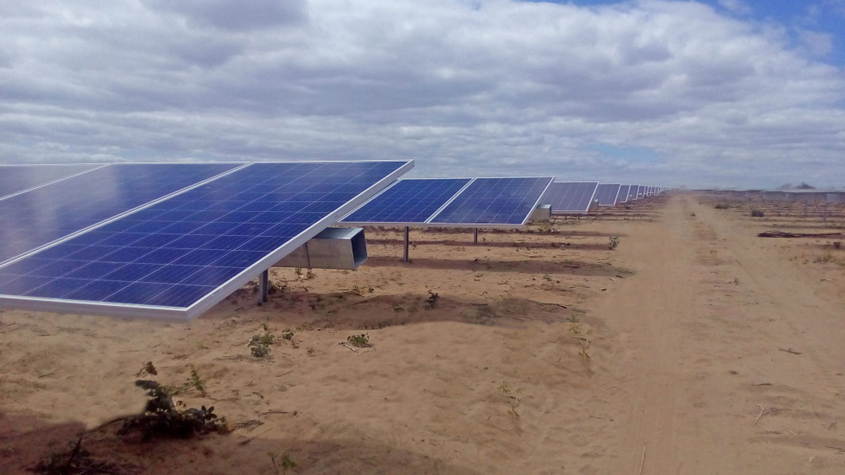 Solaranlage in Brasilien