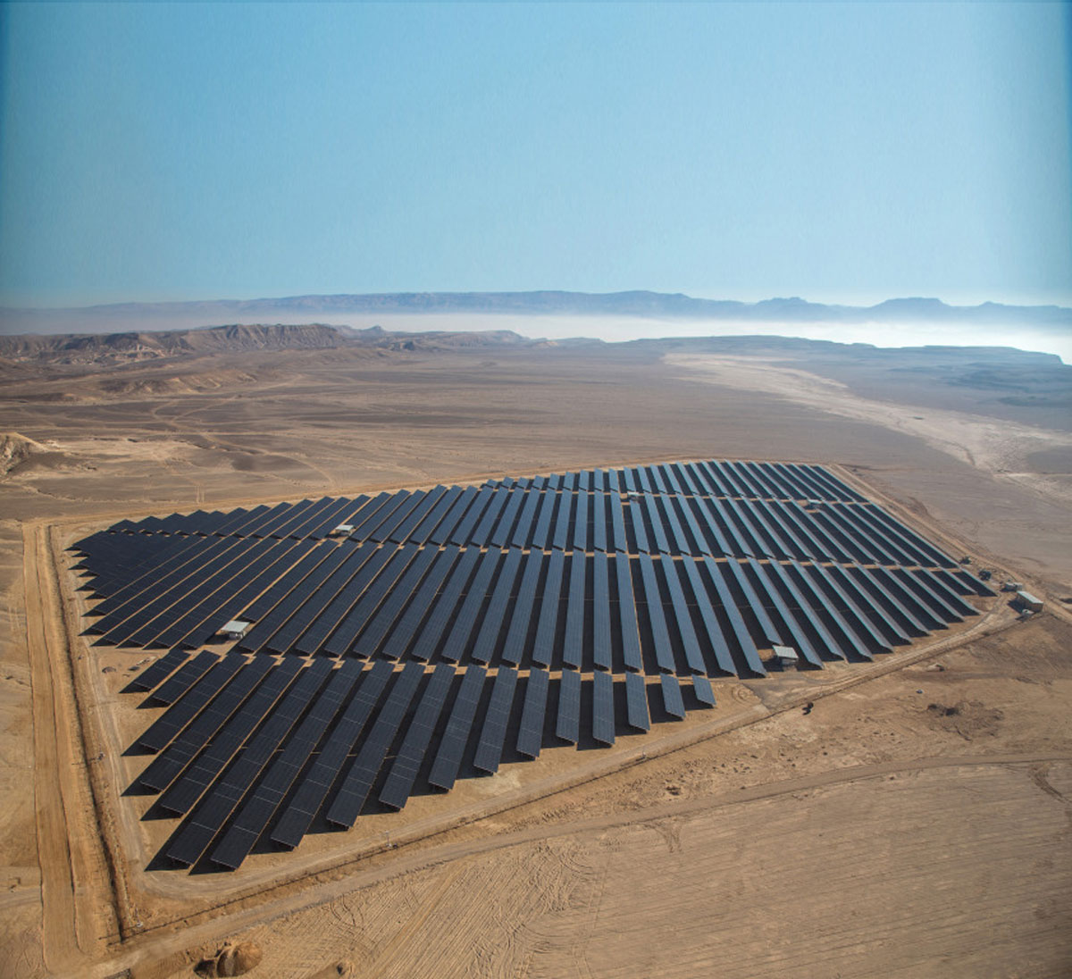 Solaranlage in Israel