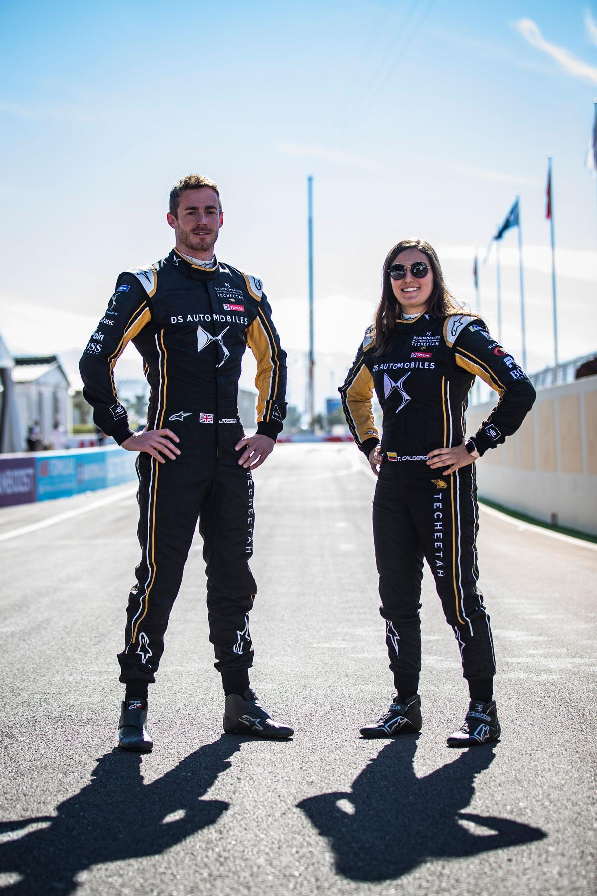 Formular E Fahrer & Fahrerin
