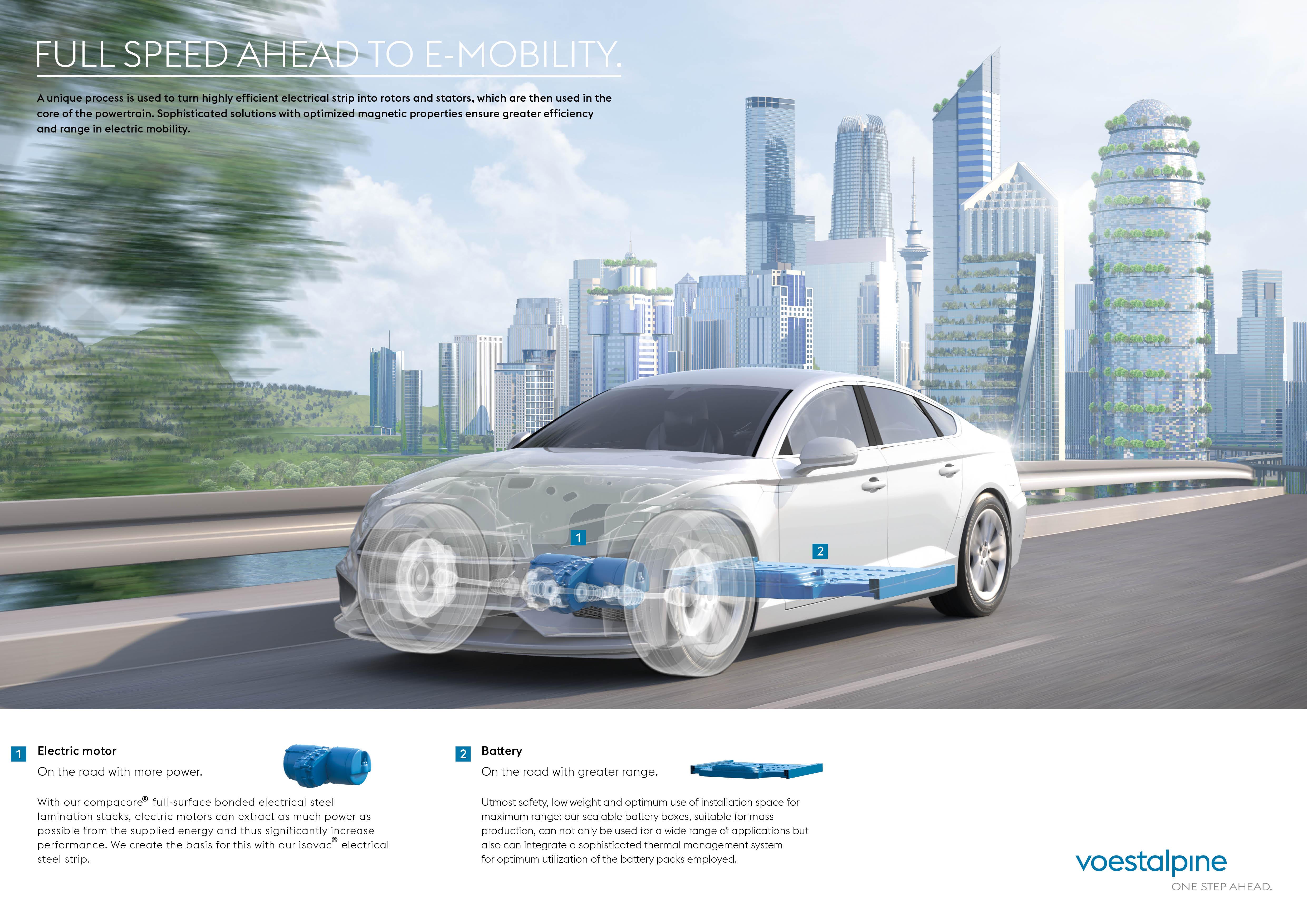 Infographic e-mobility