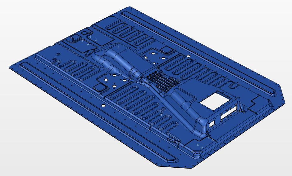 Deckel für den Batteriekasten