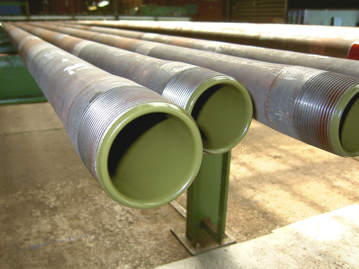 interior-coated tubes