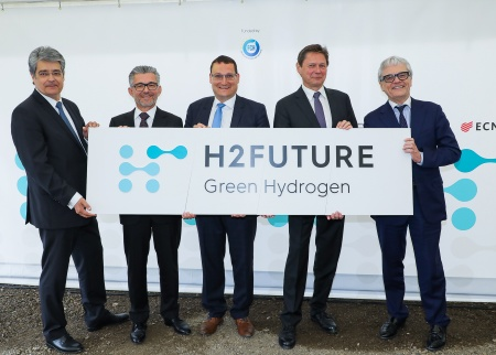 H2FUTURE on track: construction starts at the world's