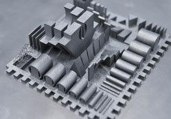impresión aditiva polvo metálico