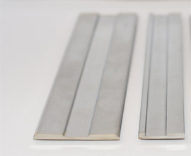 Cold-rolled strip steel with profile-