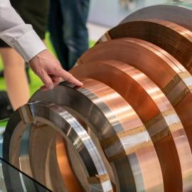 Erfolgreicher Messeauftritt in Stuttgart auf der Blechexpo-Lasergeschweißte Coils - zum Anfassen