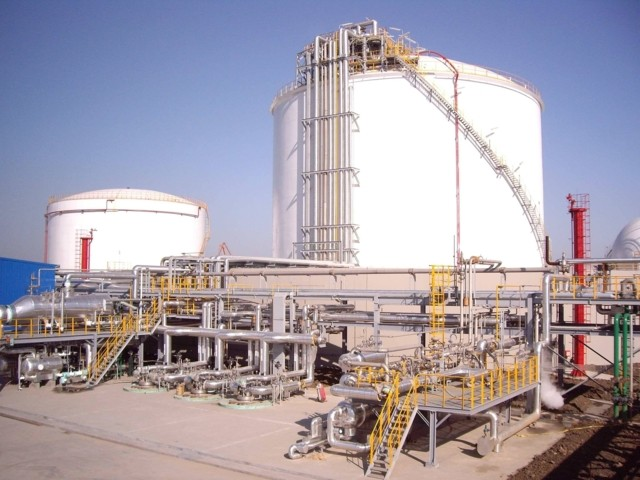 LNG-Lagertanks