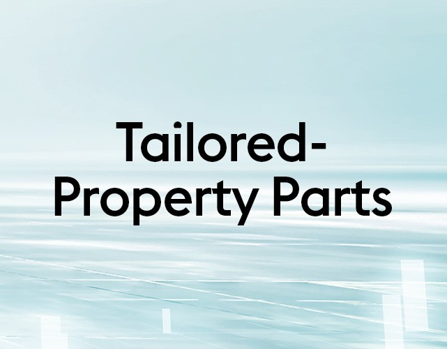 Tailored-Property Parts - for galvanized components with defined hardness and ductility