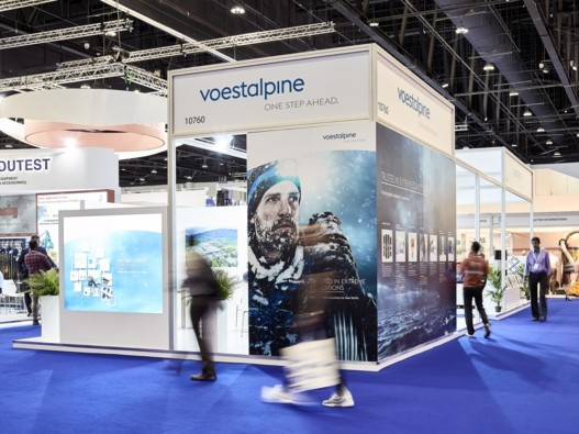 voestalpine at ADIPEC 2018